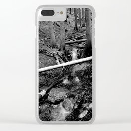 Into a Fathomless Chaos Clear iPhone Case