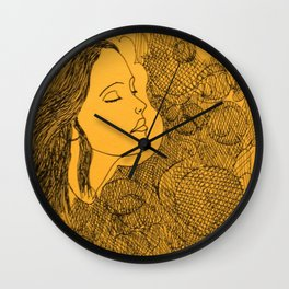 Face one Wall Clock