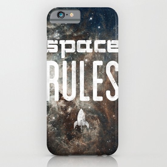 Space Rules iPhone & iPod Case