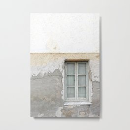 Grunge Window Metal Print