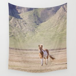 Icelandic Paint Horse Photograph Wall Tapestry