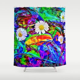 Nature Abstract Shower Curtain