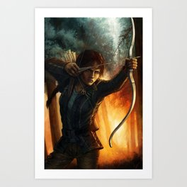 Katniss Everdeen Art Print