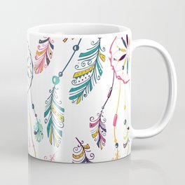 White Dreamcatcher Coffee Mug