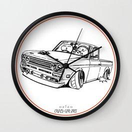 Crazy Car Art 0188 Wall Clock