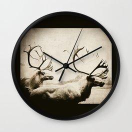 cariboutimestwo Wall Clock