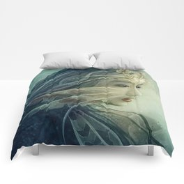 Lionfish mermaid Comforters