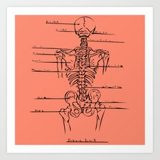 Anatomy Lesson 3 Art Print