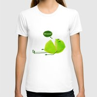 lime green T-shirts featuring Lime by Lime