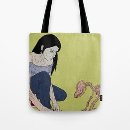 do not touch dead animals - dog Tote Bag