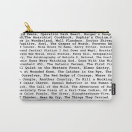 Banned Literature Internationally Print Carry-All Pouch