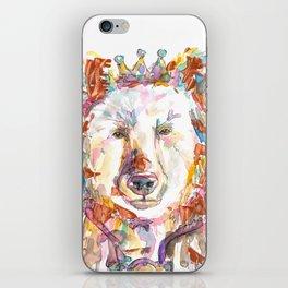 Princess Bear iPhone Skin