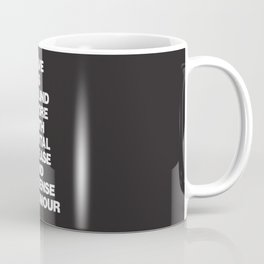 Love Coffee Mug