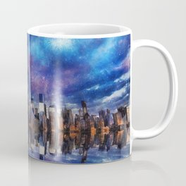 New York Fireworks Coffee Mug