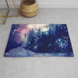 Galaxy Forest : Deep Pastels Rug