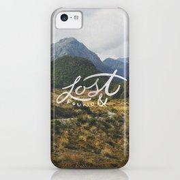 Lost & Found iPhone Case