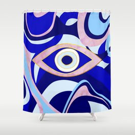 Quartz of your Eye Shower Curtain