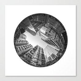 Circular Fisheye #5 Canvas Print