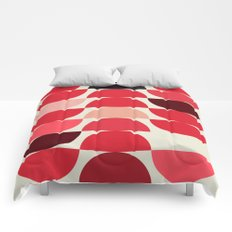 Red Bowls Comforters