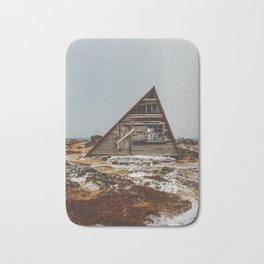 Icelandic Asymmetrical A-Frame Cabin Bath Mat