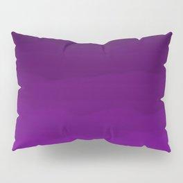 Ultra Violet Waves - Rich Purple Gradient Pillow Sham