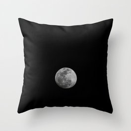 moon · moon Throw Pillow