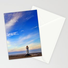 Lighthouse in Blue Stationery Cards