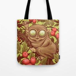 The Caffeinated Tarsier Tote Bag