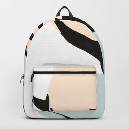 Abstract face / Greek bust Backpack
