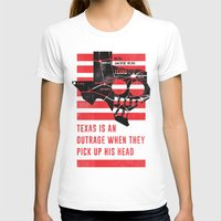jfk T-shirts featuring Misfits JFK Poster Series - Pick Up His Head by Robert John Paterson