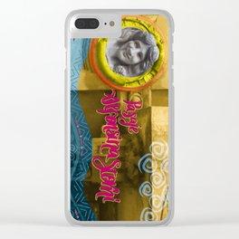 Alfonsina Clear iPhone Case