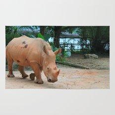 sandy rhino Rug