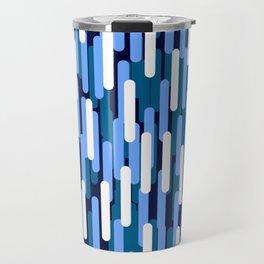 Fast Capsules Vertical Blue Travel Mug