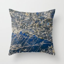 Botanical Gardens II - Holographic Mineral #360 Throw Pillow