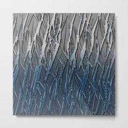 Forest rain Metal Print