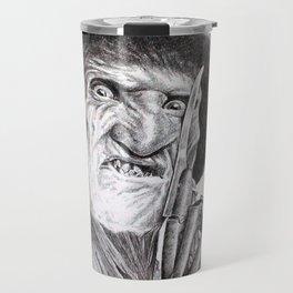 Freddy krueger nightmare on elm street Travel Mug