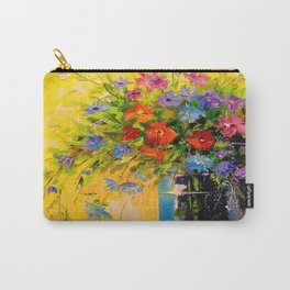 Bouquet of meadow flowers Carry-All Pouch