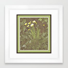 Spring #1 Framed Art Print