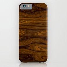 Wood Brown Slim Case iPhone 6