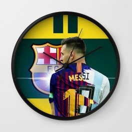Messi Player Wall Clock