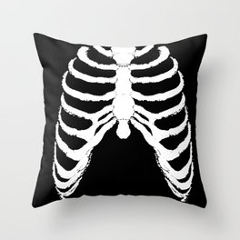 RIBS CAGE. Throw Pillow