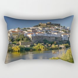 Mertola river view, Portugal Rectangular Pillow