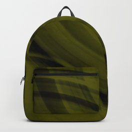 Ellipse intersecting solar curved lines with blurred ovals of bright rings. Backpack