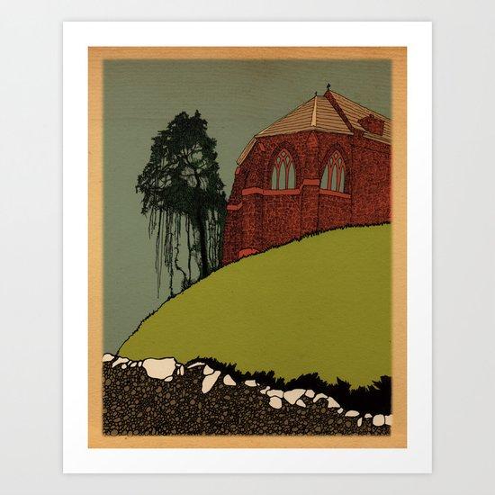 St. Vigeans  Art Print