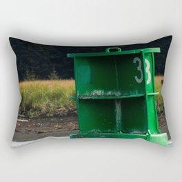 Marker Buoy Photography Print Rectangular Pillow