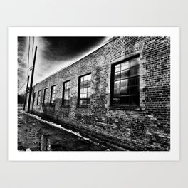 Bricked Art Print