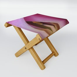 Peek A Boo Pink Folding Stool