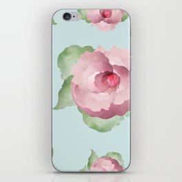 Watercolor Floral Background iPhone Skin