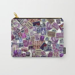 The World in Purple Carry-All Pouch