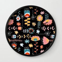 Folk Dance Wall Clock